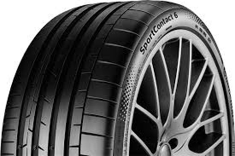 ГУМИ CONTINENTAL 285/35ZR19 (103Y) XL FR SportContact 6